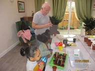 Care home Gardening Club